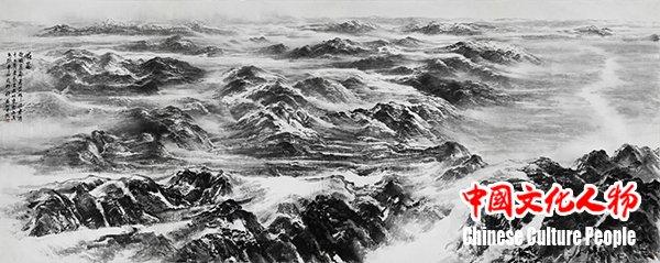 吞吐大荒――许钦松山水画展在澳门举行