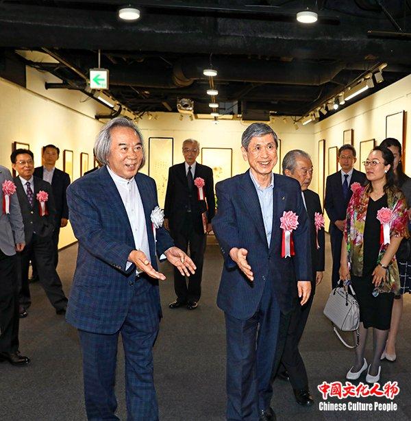 中国当代名家霍春阳书画艺术展在日本东京隆重开幕